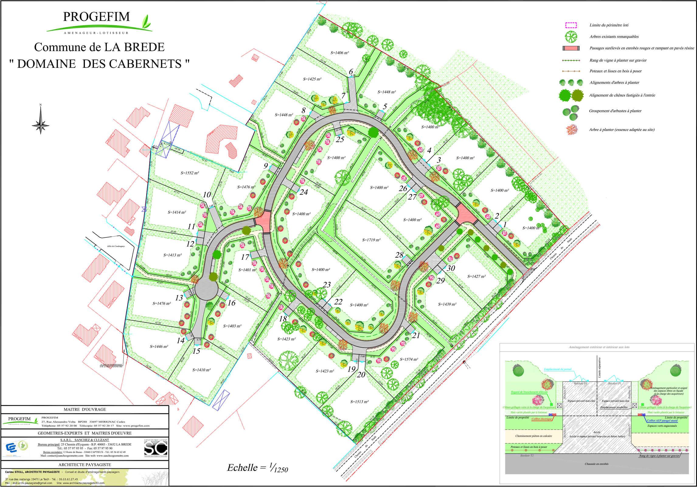 Terrain A Vendre Gironde 33 La Brede Le Domaine Des Cabernets